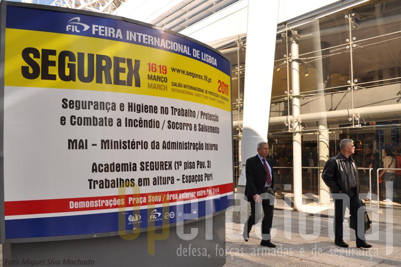 A Feira Internacional de Lisboa acolheu mais um SEGUREX. A sua organização irá em Outubro deste ano irá cooperar com a EXPOSEGURA em Luanda e em 2013 voltará a Lisboa.