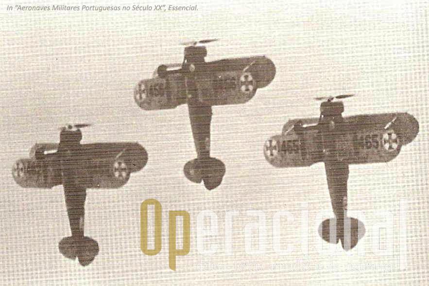 Patrulha de Gloster Gladiator.