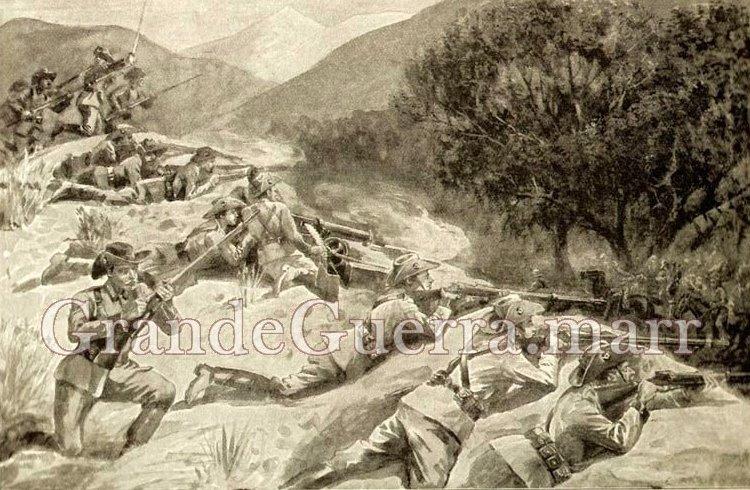 A emboscada alemã (Colecção particular)