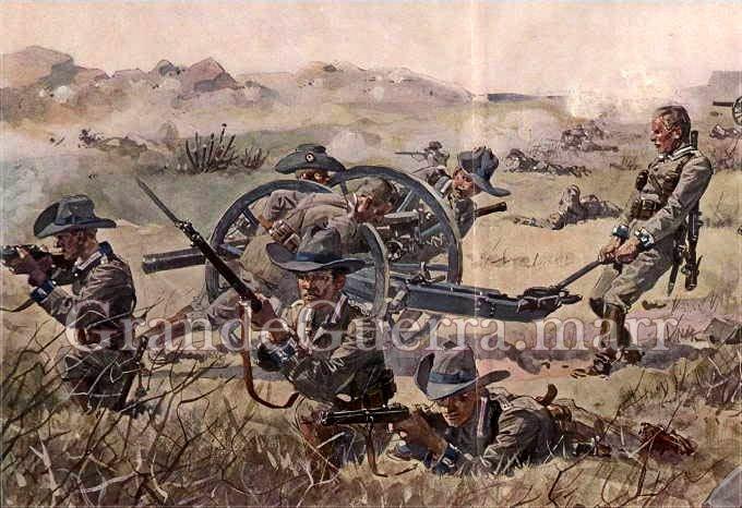 Artilharia alemã (Colecção particular)