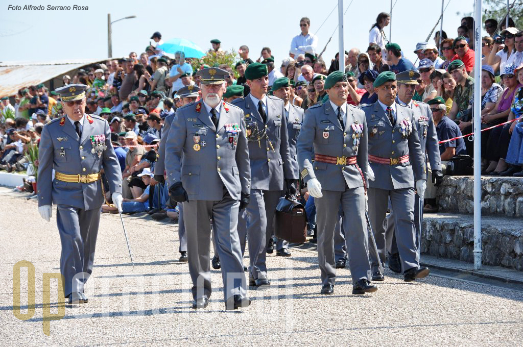 O Chefe do Estado-Maior do Exército, General Pinto Ramalho, presidiu às cerimónias deste ano.