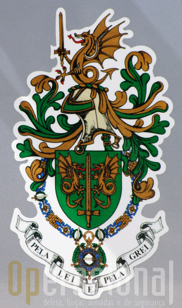 Brasão de Armas da GUARDA NACIONAL REPUBLICANA (1911-2011)