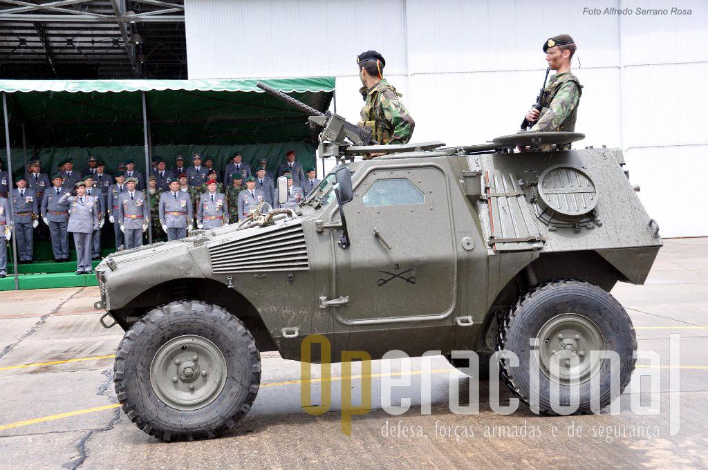 M-11 do Esquadrão de Reconhecimento, aquartelado o Regimento de Cavalaria n.º 3 e Estremoz.