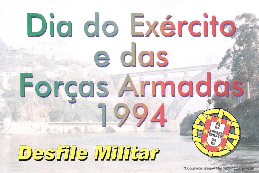 Nos anos 80 e inicio dos anos 90 do século XX as cerimónias militares do Dia das Forças Armadas, percorreram o país....
