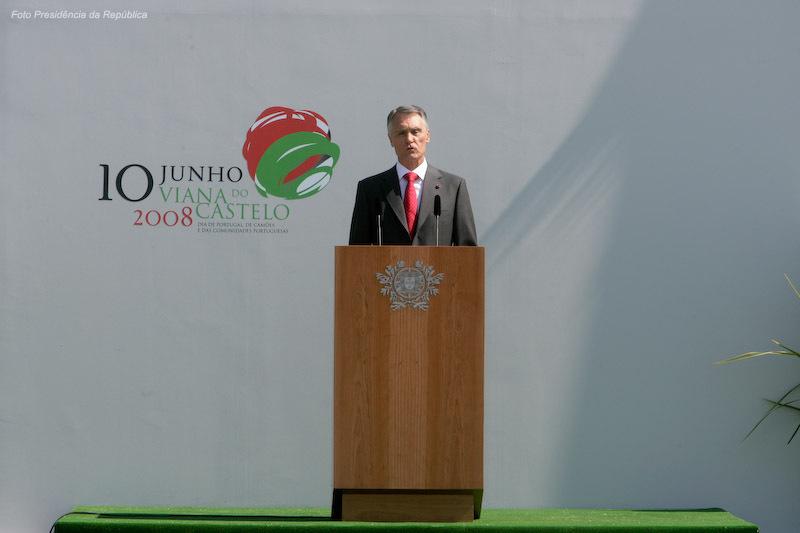 Desde 2006 que apenas o Presidente da Republica discursa na Cerimónia Militar do 10 de Junho