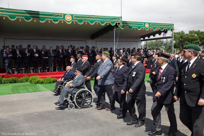 Em Faro no 10 de Junho de 2010, pela primeira vez desde o fim da Guerra do Ultramar os antigos combatentes participaram na cerimónia desfilando.
