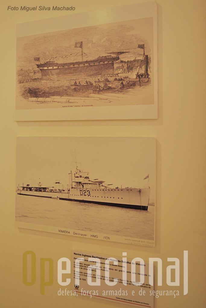 """Uma curiosidade entre outras o facto da Royal Navy ter dado o nome de """"Vimieiro"""" a mais do que um dos seus navios."""