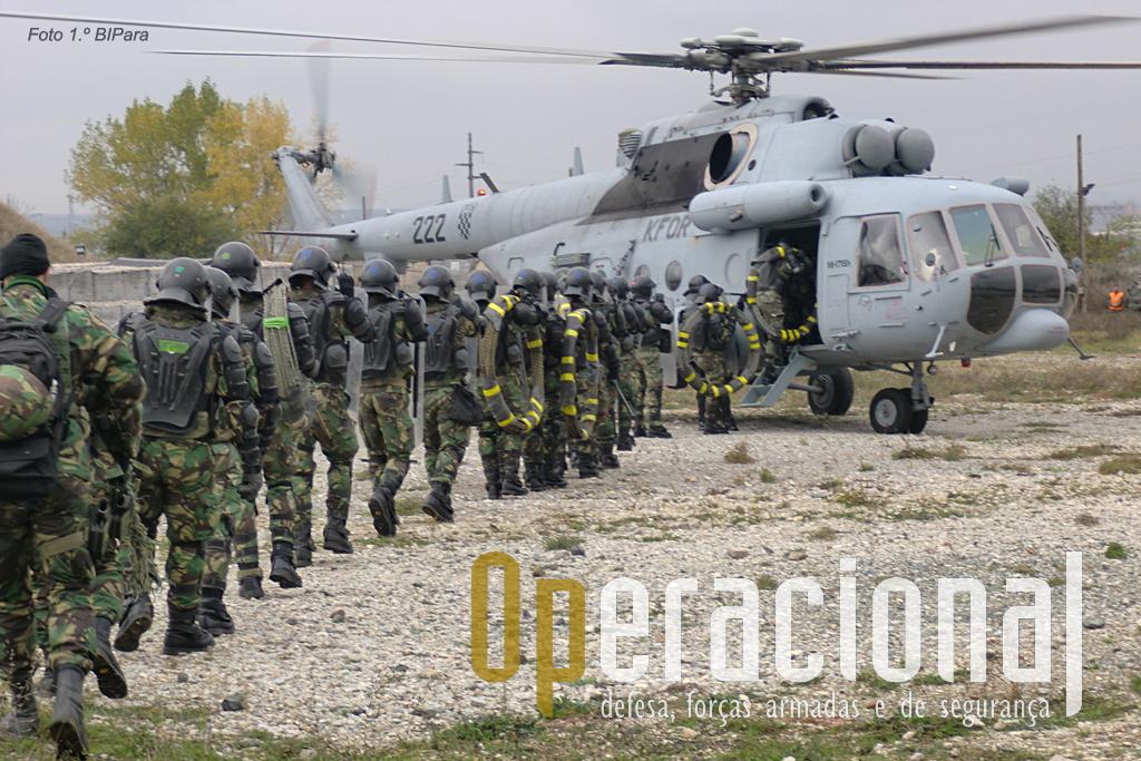 A KTM pode ainda intervir na Bósnia-Herzegovina em caso de necessidade. Se as forças no Kosovo não forem suficientes para alguma situação mais grave ou prolongada, há países com forças prontas a reforçar a KFOR.