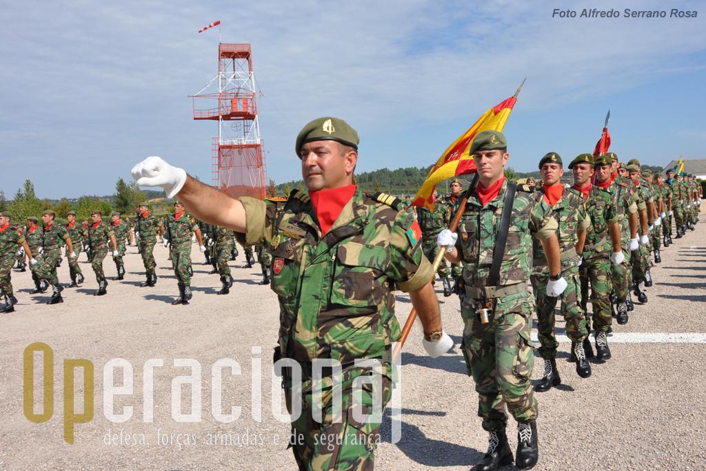 As Forças de Operações Especiais sob o comando do Tenente-Coronel de Operações Especiais  Joaquim Monteiro.