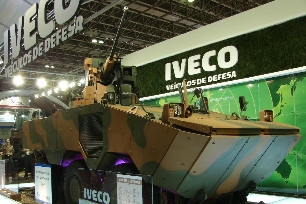 O VBTP - MR 6X6 Guarani da Fiat - Iveco. Serão fabricados no Brasil ao longo de pelo menos duas décadas em diversas versões.