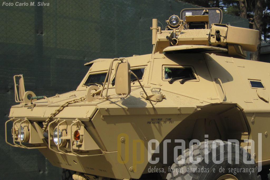 O Exército Nacional e a Policia do Afeganistão deverão receber 440 viaturas Mobile Strike Force Vehicle.