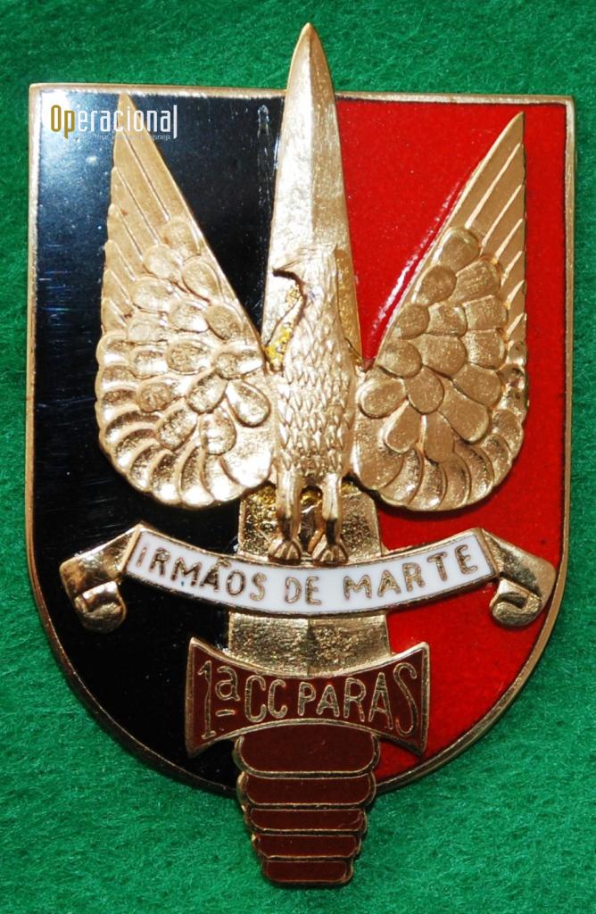 Distintivo de identificação da 1CCP. (Col. Sucena do Carmo)