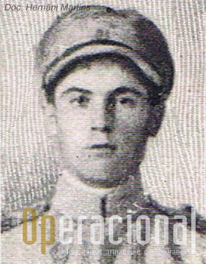 António Augusto em França na 1.ª Guerra Mundial.