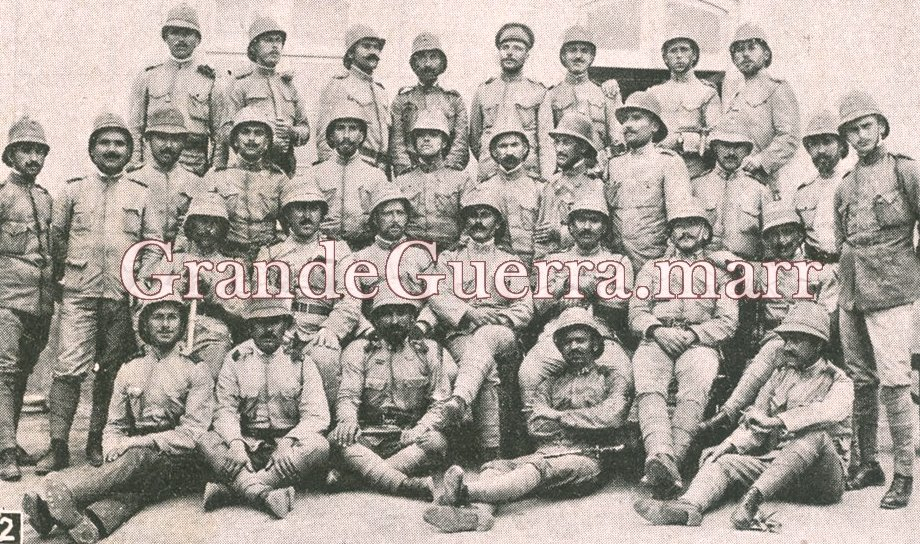 Grupo de Sargentos que estiveram em Naulila