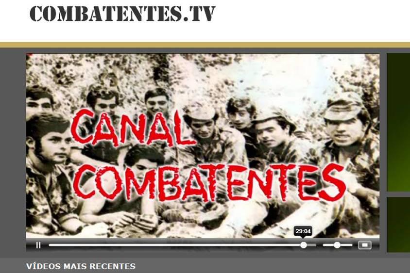 """A Liga dos Combatentes tem no ar a """"Combatente TV"""" um projecto experimental de web TV."""