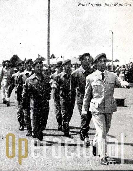 equipa portuguesa em terras de França, numa época em que os contactos internacionais não abundavam.