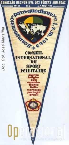Flamula criada para o campeonato e distribuida às delegações.