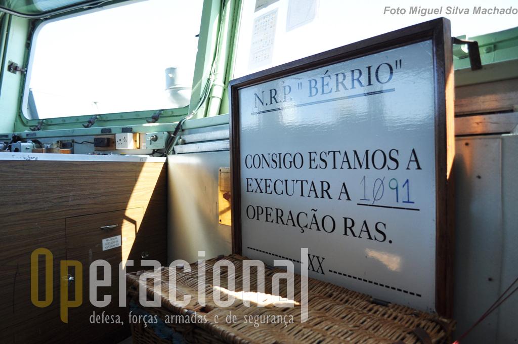 """A """"contabilidade"""" das missões de Reabastecimento no Mar, está sempre actualizada."""