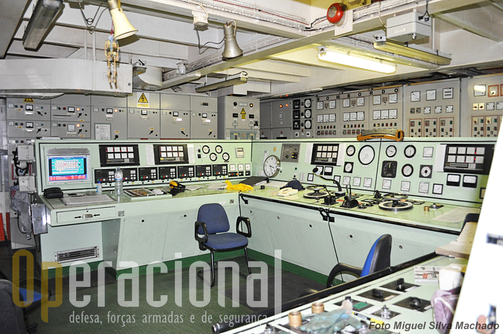 A Machinery Control Room