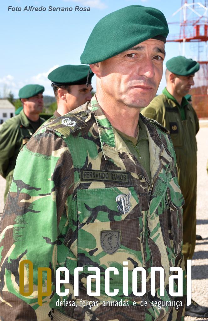 Sargento-Ajudante Paraquedista RAMOS.
