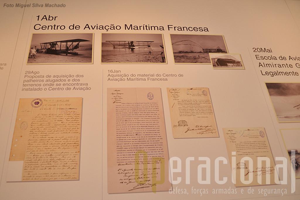 Cópias dos docuemntos originais que oficializaram a entrega (venda!) pela aviação naval francesa a Portugal dos materiais e instalações de S. Jacinto.