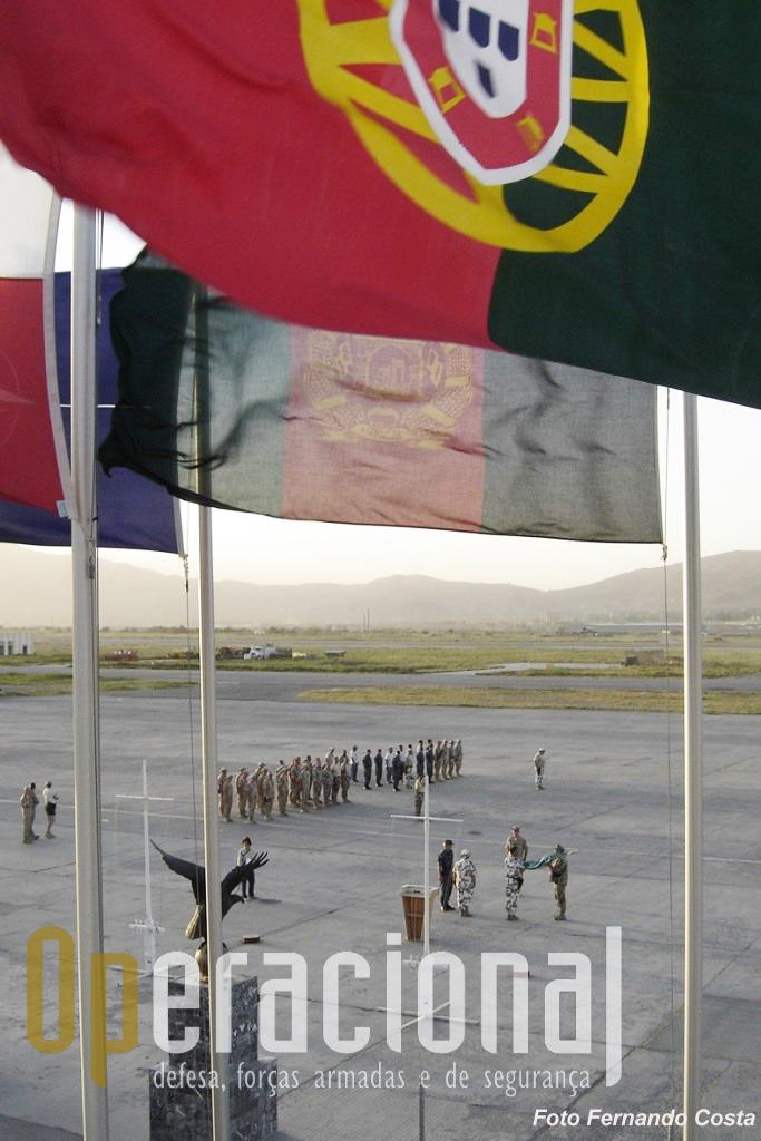 Em 2005 Portugal comandou KAIA, agora está disponível para ajudar a garantir a sua segurança.