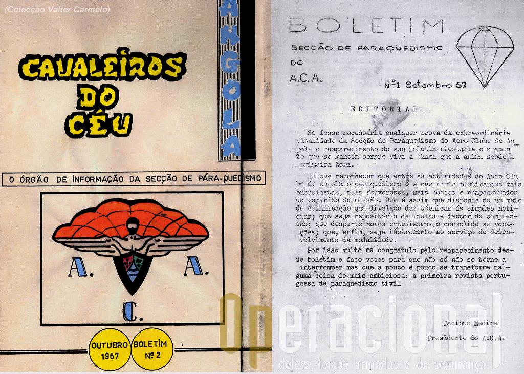 Órgão de Informação do Aéroclube de Angola.