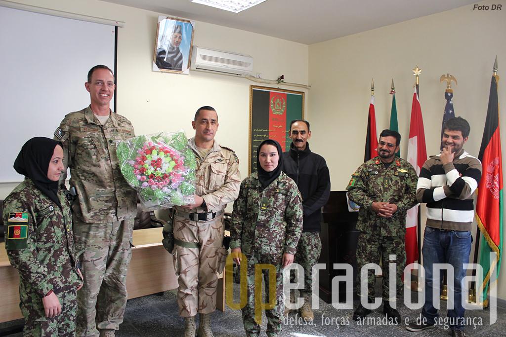 O dia-a-dia dos portugueses é trabalhar com as forças afegãs e com os parceiros da NATO para tentar fortalecer as capacidades militares e policiais do Afeganistão.