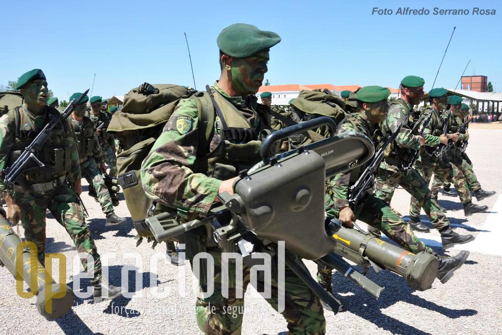 """Parte do armamento da BrigRR ainda foi adquirido no tempo da Brigada de Pára-quedistas Ligeira (BRIPARAS) da Força Aérea, como os sistemas """"Milan""""..."""