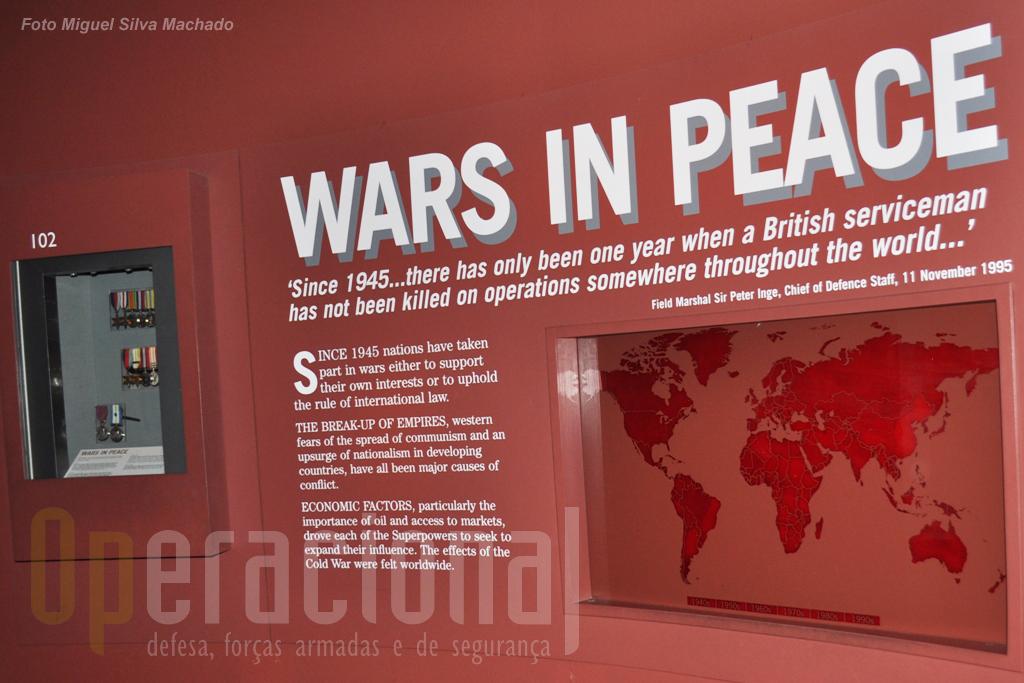 Terminado o conflito mundial...a guerra continuou e um pouco por todo o mundo. Até hoje.
