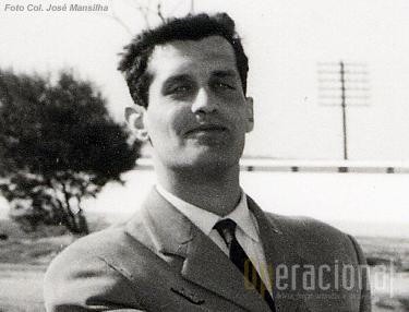 O capitão pára-quedista Carlos Bragança Moutinho em 1964 no Regimento de Caçadores Pára-quedistas.