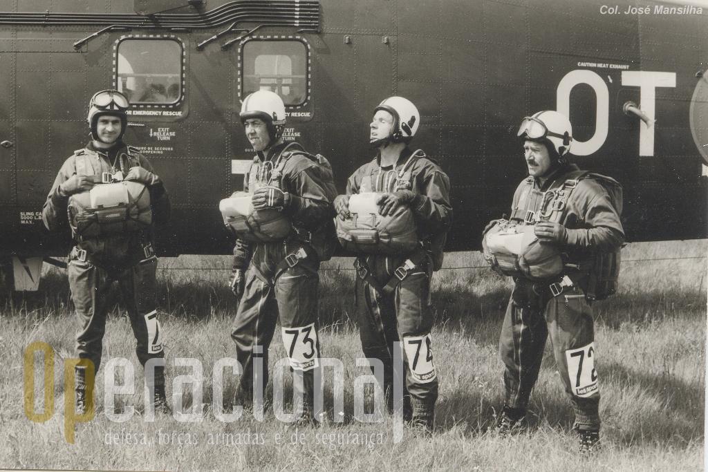 Da direita, Arlindo Mendes, Gaspar, Cavaco e Mansilha