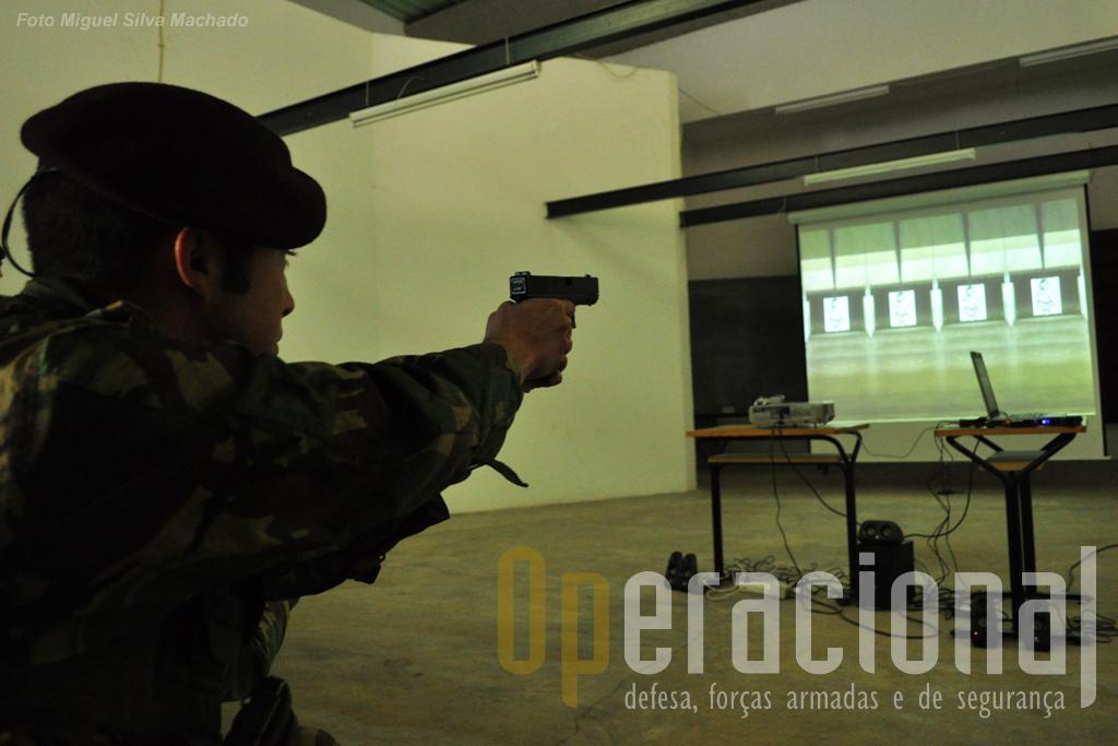 Antes do tiro real, o tiro virtual como modo de reduzir custos e aumentar a proficiência dos atiradores.