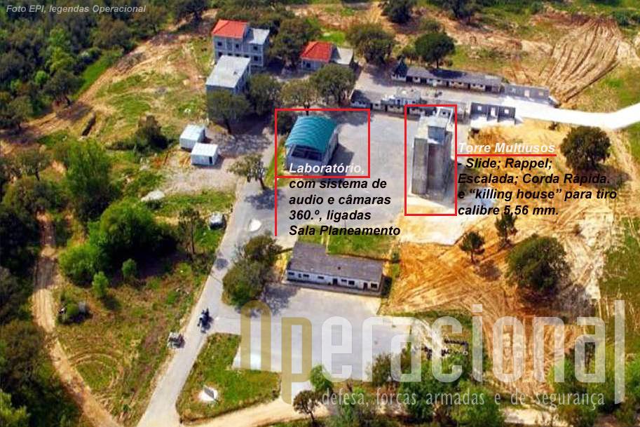 """A """"Aldeia de Camões"""" é uma infraestrutura em desenvolvimento mas já muito completa permitindo uma enorme gama de actividades nesta área de fomação."""
