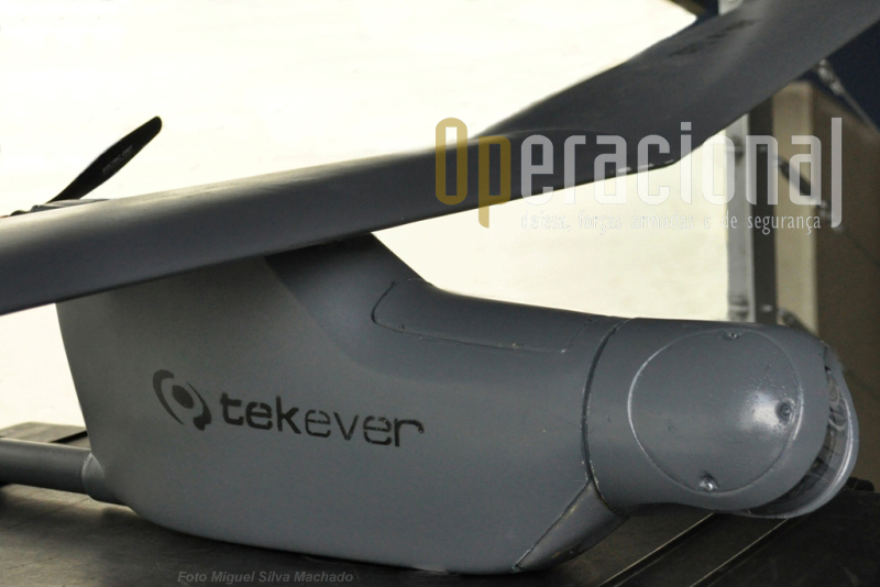 """O AR4 """"Light Ray"""", é o primeiro de uma familia de UAV portugueses que estão a chegar ao mercado."""