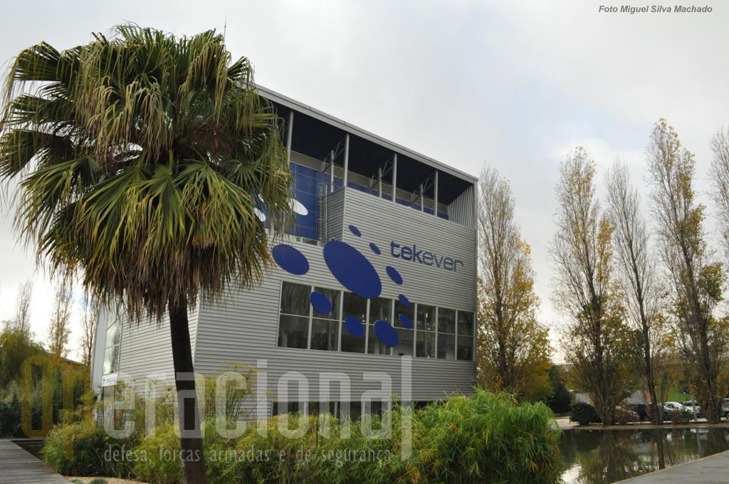 A sede do Grupo em Lisboa onde trabalham mais de 70 engenheiros e cujas receitas são obtidas em 80% no estrangeiro.