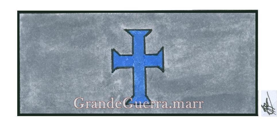 Braçal da Assistência Religiosa no Corpo Expedicionário Português em França (1917-1918)