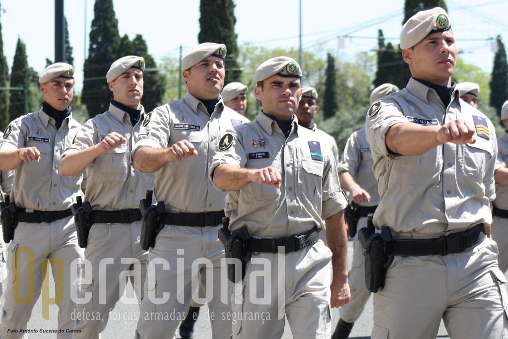O Grupo de Intervenção de Protecção e Socorro.