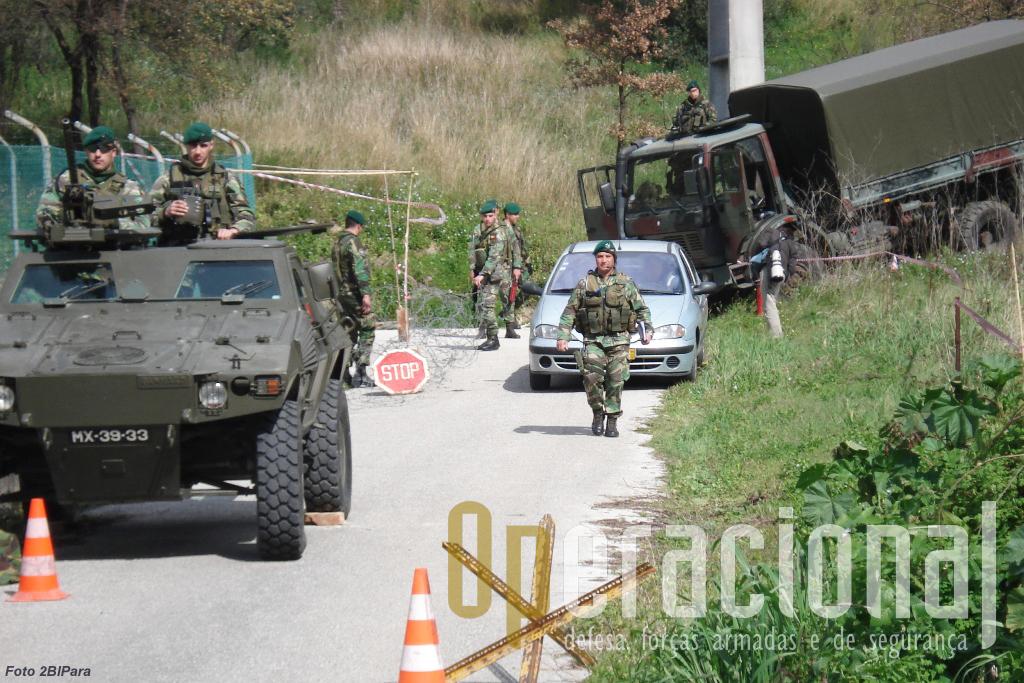No Kosovo as forças portuguesas actuam muito em ambiente urbano...