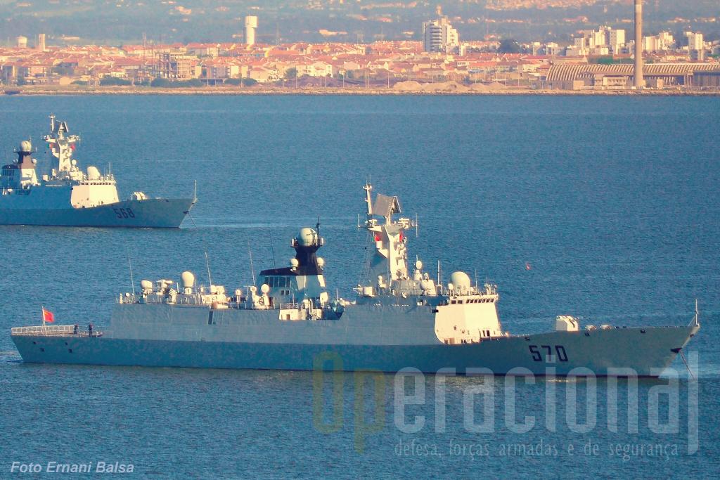 A 13.ª Flotilha, depois de largar Lisboa, rumou a Toulon onde foi, novamente, recebida por civis chineses e pelas autoridades militares locais.