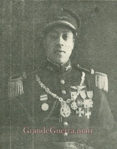 Capitão Luís Gonzaga, uma das suas últimas fotos (colecção particular)