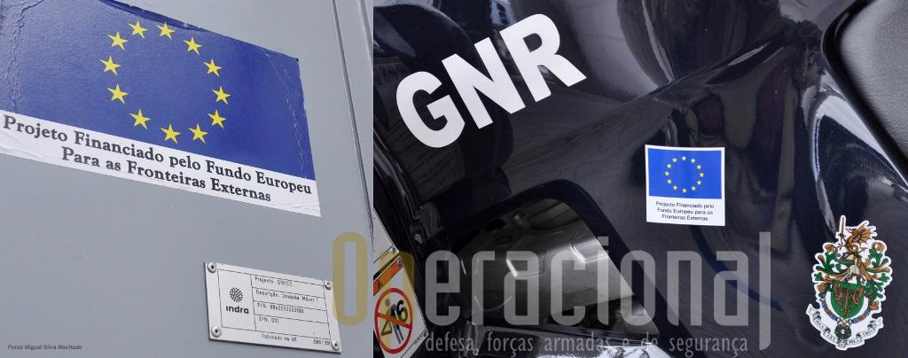 """Muitos dos meios das nossas forças de segurança têm sido adquiridos com apoios comunitários. Note-se, sobre a legenda da foto anterior, o """"Brasão de Armas da GNR"""", aqui numa moto-quatro da Unidade de Controlo Costeiro."""
