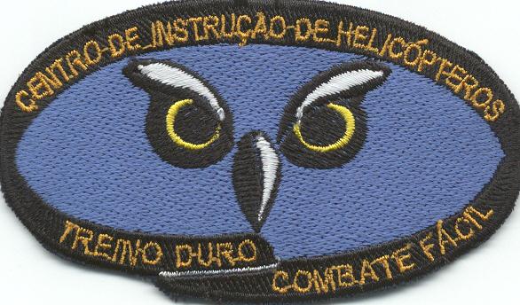 Emblema do Centro de Instrução de Helicópteros de Marinha para uso no fato de voo.