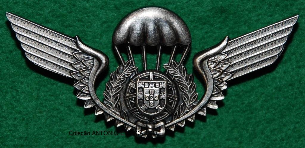 Distintivo de qualificação paraquedista: PLATINA (1000 saltos)