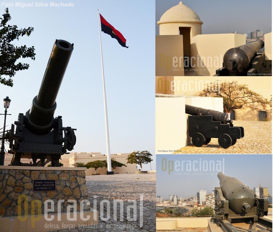 Como se refere no texto o museu é rico em material de artilharia e aqui ficam alguns exemplos.