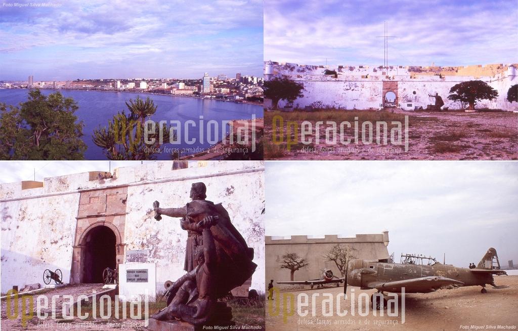 Quem passou por Luanda ao longo dos anos e viu a Fortaleza, sabe o estado em que estava, bem assim como o acervo museológico.