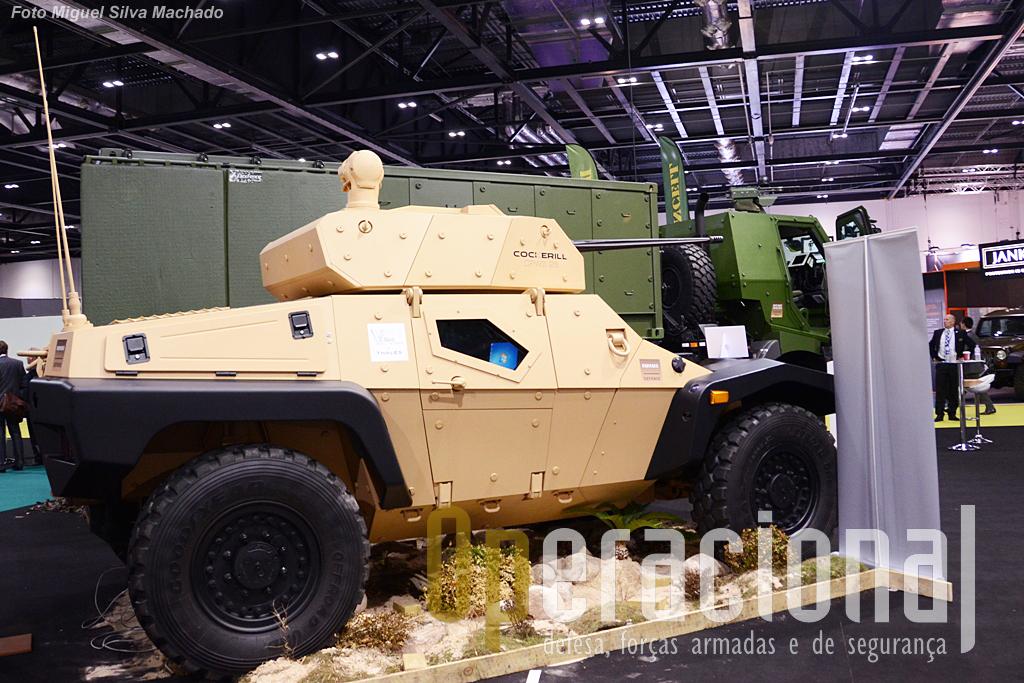 Mais um produto Panhard, o CRAB - Combat Reconnaissance Buggy.