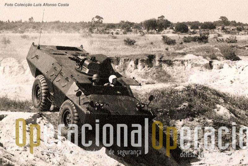Na época esta viatura significava um avanço muito significativo em relação ao material blindado de rodas que existia em Portugal que se tornava necessário substituir em África.