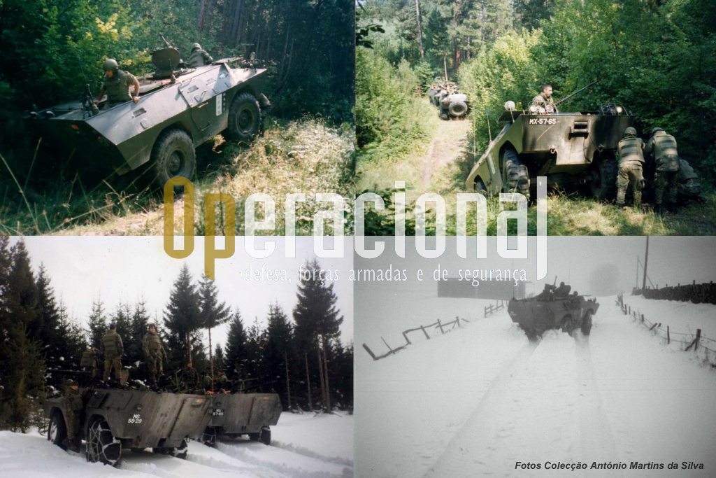 As condições de utilização das Chaimites na Bósnia não são objecto deste artigo, não queremos no entanto de deixar aqui uma pequeníssima amostra do que foram esses tempos.