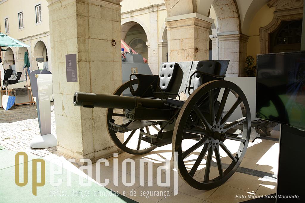 Recordação de um tempo em que a GNR dispôs de artilharia?